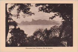 Brazil Rio De Janeiro Panorama From Nictheroy Advertising Lampor