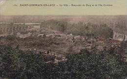 France Saint Germain En Laye La Ville Panorama du Pecq et de I'l