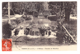 YERRES _ L'Abbaye _ Cascade Du Réveillon _ Petite Animation _ Affranchissement Semeuse N°138 - Yerres
