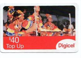 SAINT VINCENT ET LES GRENADINES CARAIBES PREPAYEE DIGICEL 40$ - San Vicente Y Las Granadinas