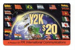 PUERTO RICO CARAIBES Y2K 20$ - Puerto Rico
