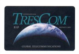 PUERTO RICO CARAIBES GLOBAL TELECOM TRESCOM 10$ - Puerto Rico