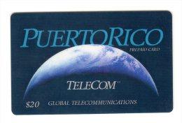 PUERTO RICO CARAIBES GLOBAL TELECOM 20$ - Puerto Rico