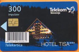 SLOVENIA - SLV 781,Hotel Tisa, Pohorje , 7/10/2010, 12.000ex, Used - Slovénie