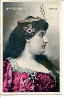 Agnès BORGO - Soprano, Début De Cantatrice à L'Opéra En 1904 - épouse Du Ténor César VEZZANI - Opéra