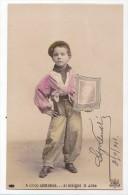 Spain Jose De Echegaray Niño Publicita Un Diario Premio Nobel Vintage Original Postcard Cpa Ak (W3_1861) - Premio Nobel