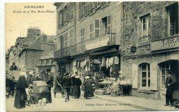 22 - GUINGAMP - Entrée De La Rue Notre Dame - Guingamp