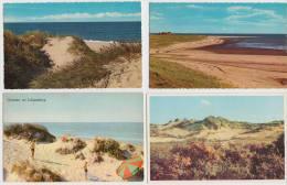 8 OLD POSTCARDS HOLLAND: DUINEN/ DÜNE / DUNES / DUNE - (See 3 Scans) - Postkaarten