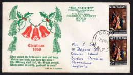 New Zealand 1969 Christmas FDC - Ageing - FDC