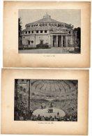 LE  CIRQUE  D´ ETE  VERS  1865  (PARIS)  Provenant D´un Livre De Georges CAIN - 1912 - Vieux Papiers