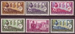 A E F - 1937 - YT N° 33 / 37 + 77 - *  Et  Nsg - - A.E.F. (1936-1958)