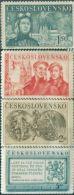 JK0050 Czechoslovakia 1950 Republic Of Tank Crews Of Workers 4v MNH - Nuovi