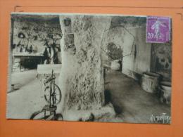 V09-17-charente Maritime-meschers-les Falaises -grottes Des Fontaines--1933 - Meschers