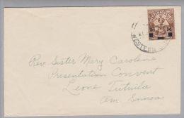 Ozeanien Western Samoa 1942-0?-21 Apia Nach Tutuila Am.Somoa - Samoa