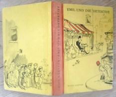 Emil Und Die Detektive - Erich KASTNER - 1949 - BUCHERGILDE GUTENBERG ZURICH - Illustré Par WALTER TRIER - Livres, BD, Revues