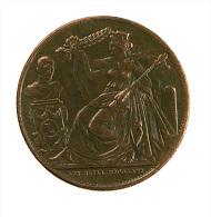 Belgique -  5 Cent. - 1856 - 25è Anniversaire Inauguration Du Roi - Cuivre - TB - Royaux / De Noblesse