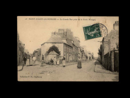 50 - SAINT-VAAST-LA HOUGUE - La Grande Rue Prise De La Croix Marigny - 18 - Saint Vaast La Hougue