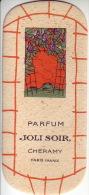 Carte Parfum -  JOLI SOIR De CHERAMY - Perfume Cards