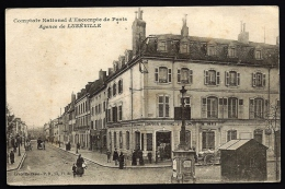 CPA ANCIENNE- FRANCE- LUNEVILLE (54)- COMPTOIR NATIONAL D'ESCOMPTE EN TRES GROS PLAN- BELLE ANIMATION- ATTELAGES - Luneville