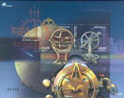Portugal Astronomie 2002 Bloc Yv. Bf 180 ** Astronomy 2002 Souvenir Sheet Af. Bl. 251** - Space