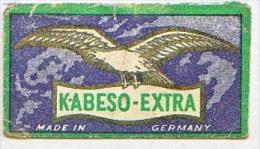 RAZOR BLADE RASIERKLINGE KABESO EXTRA MADE IN GERMANY Nicht Ohne Rasierer Gefüllt - Rasierklingen