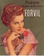Carte Parfum - POEME De FORVIL - Super Brillantine - Perfume Cards