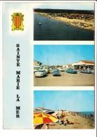 Carte ( Format 15  X 10,5 Cm )  Sainte Marie La Mer  ( Recto Verso ) - Frankrijk