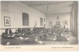 CPA BRUXELLES - COLLEGE SAINT-MICHEL - ETUDE DES 1/4 PENSIONNAIRES - Ecoles