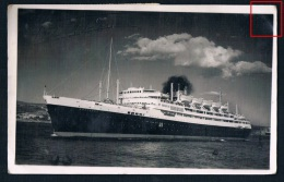 "AK Dampfschiff ""Bretagne"", Senegal-Barcelona, Ship Boat Steamer Bateau, RF-Postes - Paquebots"
