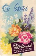 Carte Parfum - SKETCH De MOLINARD - GRASSE-PARIS - Perfume Cards
