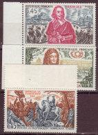 FRANCE - 1970 - YT N° 1655 / 1657  -** - TB - Neufs