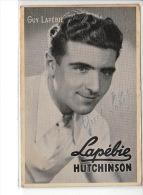 AUTOGRAPHE - COUREUR CYCLISTE: GUY LAPEBIE - Très Bon état - Autografi