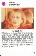 Paris Match, Cinéma, Film Fellini, La Dolce Vita / Actrice Anita Ekberg, Palme D'or Festival De Cannes - Unclassified