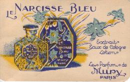 Carte Parfum - LE NARCISSE BLEU De MURY - Variante - Perfume Cards