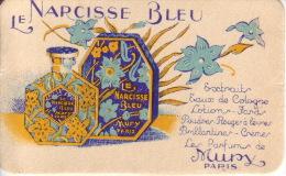 Carte Parfum -  LE NARCISSE BLEU De MURY - Perfume Cards