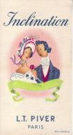 Carte Parfum -  INCLINATION De L.T. PIVER - Perfume Cards