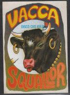 """Autoadesivo    """"Squallor / Vacca / Disco CBS 81874 """" - Musica & Strumenti"""