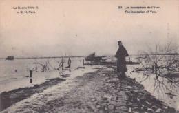 """La Guerre  14/16  L.C.H. Paris Nr 211   écrite En 1915  """"Les Inondations De L´Yser """"        Voir Scans - Guerre 1914-18"""