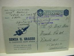 SPOTORNO  -- SAVONA -- 1° REGGIMENTO  ARTIGLIERIA CONTRAEREA -- 1° GRUPPO - 1 à BATTERIA - Guerra 1939-45