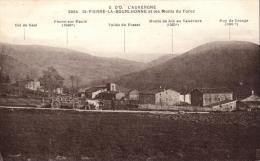 67837 - Saint Pierre La Bourlhonne (63) Et Les Monts Du Forez - France