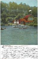 Pforzheim.  Schlittschuhsee, Ruderboote - Pforzheim