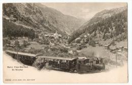CH - Train Bahn Visp-Zermatt St Nicolai, 3359, Valais, Vierge - VS Valais