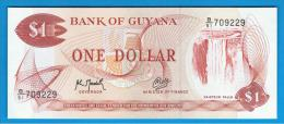 GUYANA - 1 Dolar ND  SC   P-21  Serie B51 - Guyana