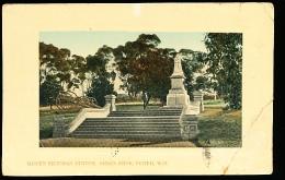 AUSTRALIE PERTH / Queen Victoria Statue, King's Park / - Perth