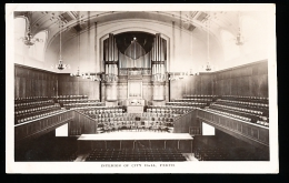 AUSTRALIE PERTH / Interior Of City Hall / - Perth