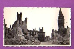 PHOTOGRAPHIE - 59 -  DUNKERQUE -  WWII - RUINES / RUE DU QUAI - CLICHE LOSFELD - - Guerre, Militaire