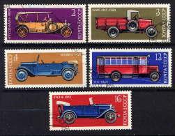 RUSSIE - N° 3986/3990° - CONSTRUCTION AUTOMOBILE EN U.R.S.S. - 1923-1991 URSS