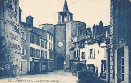 Deux-Sèvres- Parthenay -La Porte De L'Horloge. - Parthenay