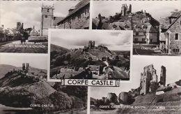 CORFE CASTLE MULTI VIEW - Postcards