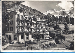 -- WENGEN -- HOTEL ALPENROSE -- CARTE PHOTO - BE Bern